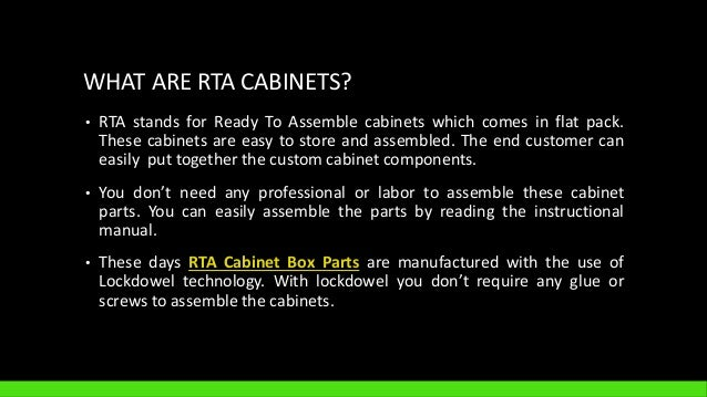 ORDER BEST ONLINE RTA CABINETS; 2. WHAT ARE ...