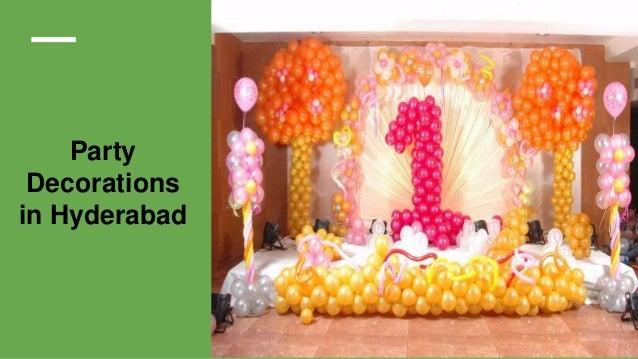 Balloon Decoration Services 4