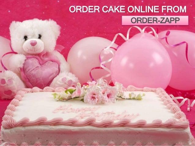 Order cake onlineOrderzapp