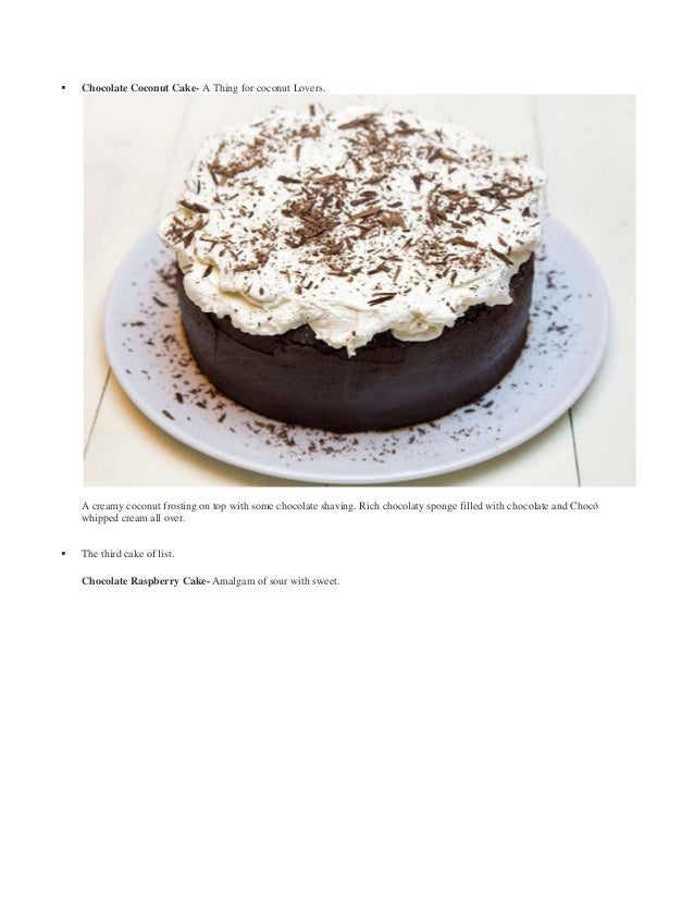 20 Decadent Chocolate Cakes - Chocolate Chocolate and More! |Types Of Chocolate Cakes