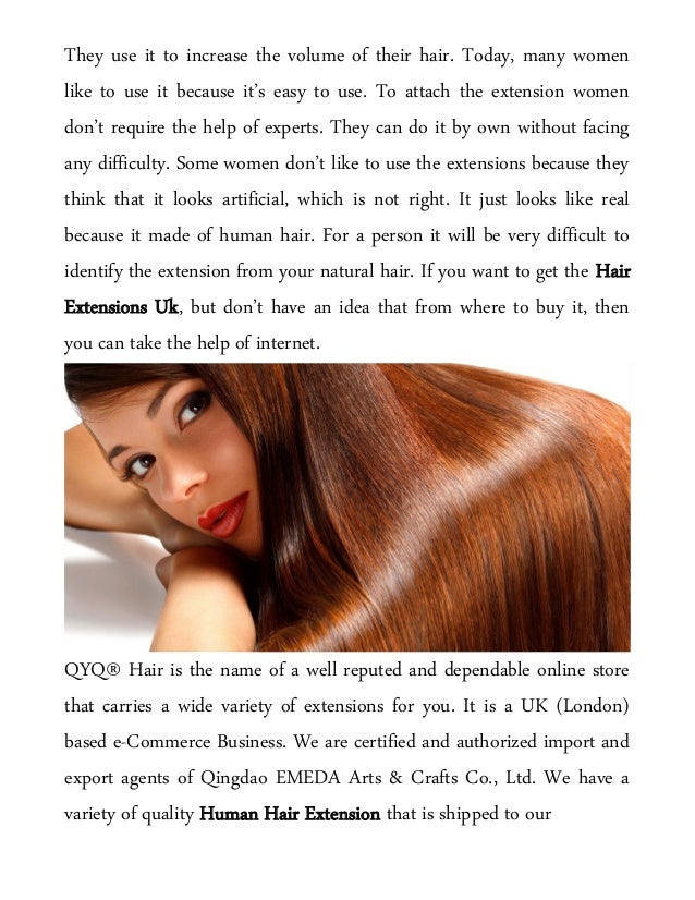 Order For Human Hair Extension Online