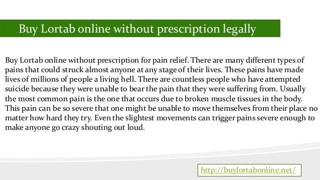 Order Lortab Online Without Prescription Slide 2