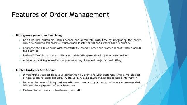 Trade order management system workflow