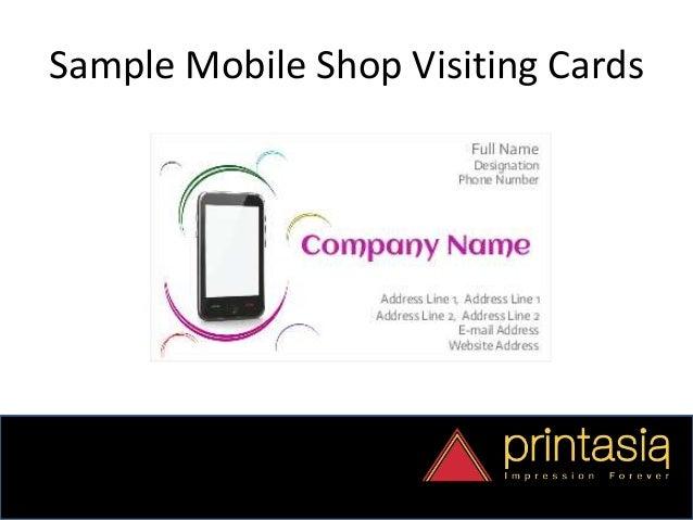 Order mobile shop visiting cards online visiting card of mobile shop samples 3 colourmoves