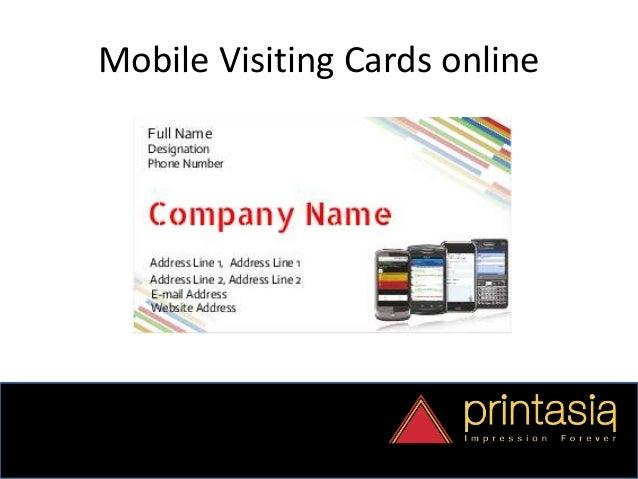 Order Mobile Shop Visiting Cards Online