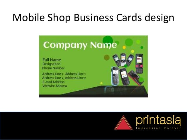 Order mobile shop visiting cards online business cards mobile shop 8 reheart Gallery