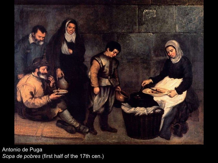 Antonio de Puga Sopa de pobres  (first half of the 17th cen.)