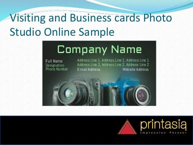 Order online business card photo studio printasia photo studio business cards design 6 colourmoves