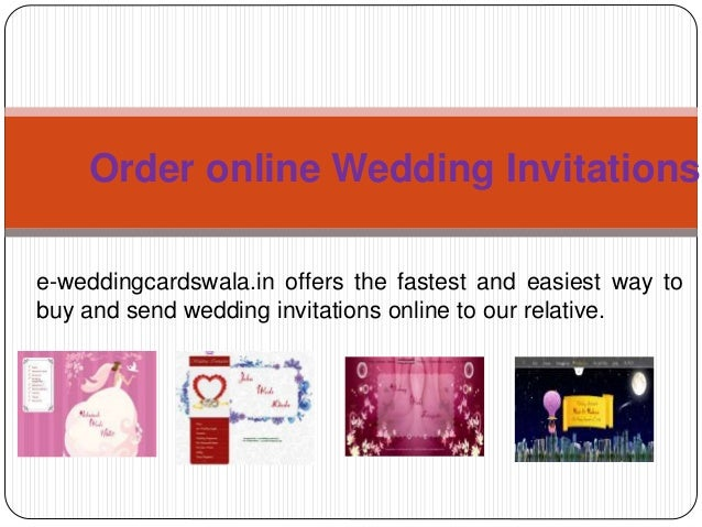 order online wedding invitations e weddingcardswalain offers the fastest and easiest way to - Order Wedding Invitations Online