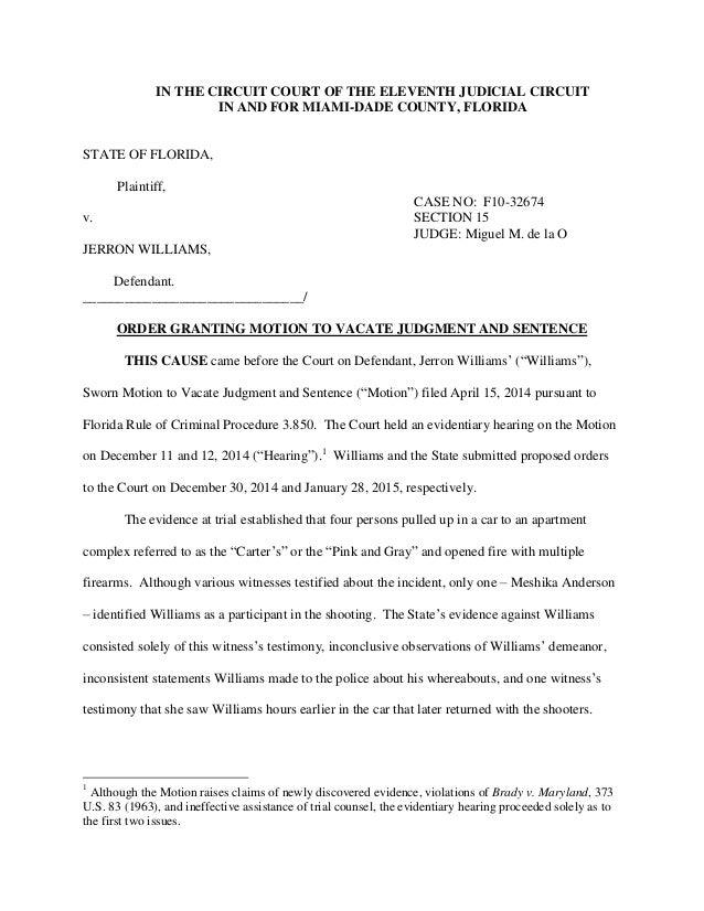 Motion for speedy trial form seatledavidjoel motion maxwellsz