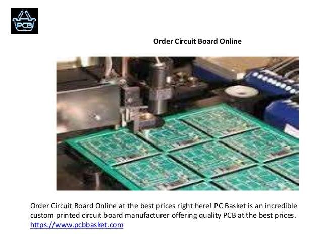 Order pcb online