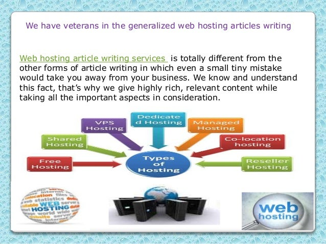 articles intended for web hosting