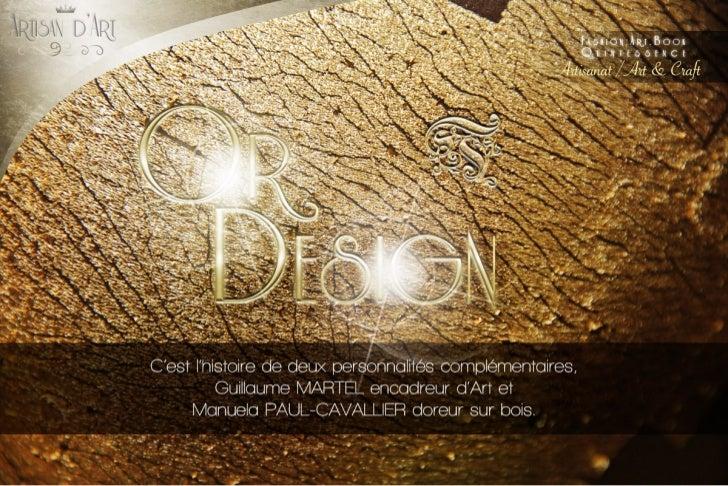 Or Design dans Close Up Mag