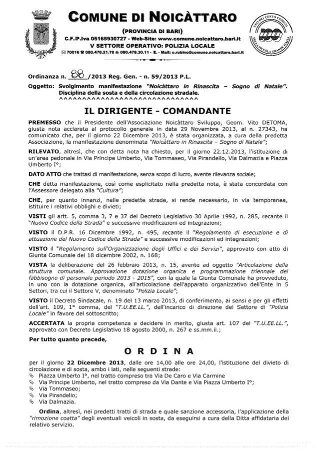 Ordinanza n. 88.2013 p.l 12900 12191