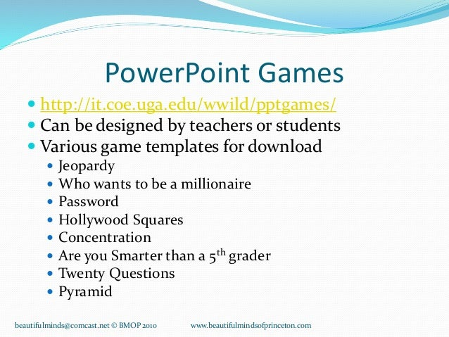Nice Powerpoint Games Templates Pictures >> Be A Tv Gameshow Host ...