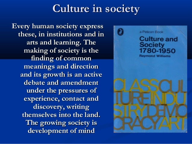Culture is ordinary essay
