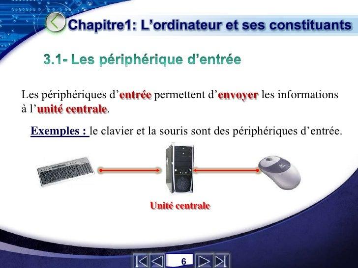 Nouveau Ordinateur & ses constituants CQ58