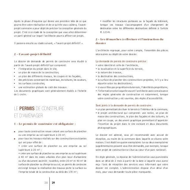 Conseil National Ordre Des Architectes Guide Construire Avec L Arch