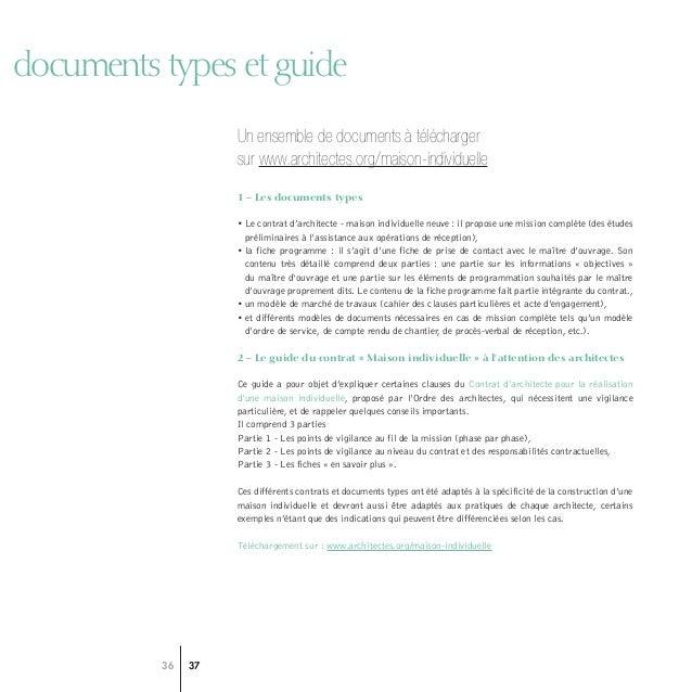 Conseil National Ordre Des Architectes  Guide Construire Avec LArch