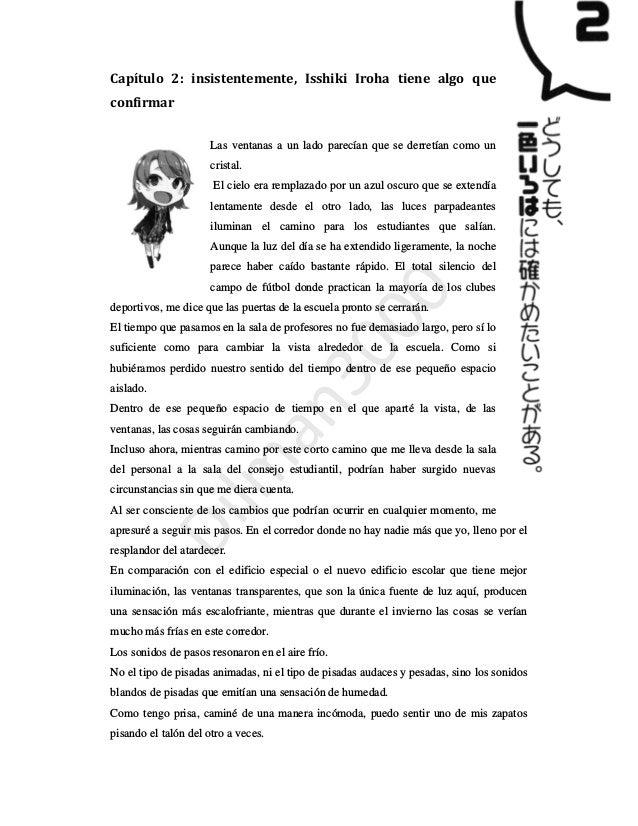 Oregairu Novela Ligera Vol 13 Capitulo 2