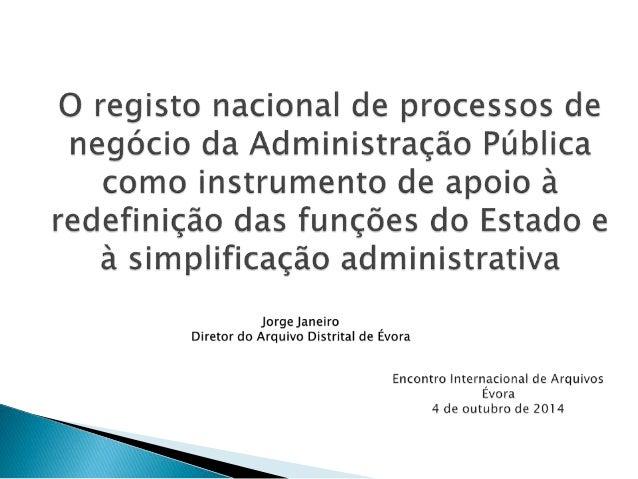 O RNPNAP é apenas uma proposta exploratória que pretende  a criação de:   Inventário de todas as atividades desenvolvidas...