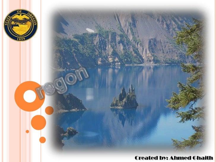 regon<br />Created by: Ahmed Ghaith<br />