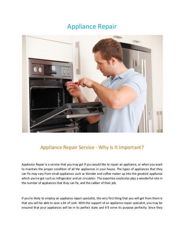 Oregon appliance repair