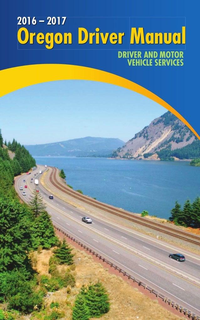 oregon driver manual 2016 2017 rh slideshare net oregon dmv drivers manual languages oregon dmv driver's manual book