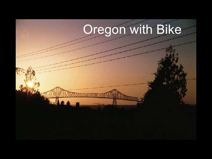 Oregon with Bike