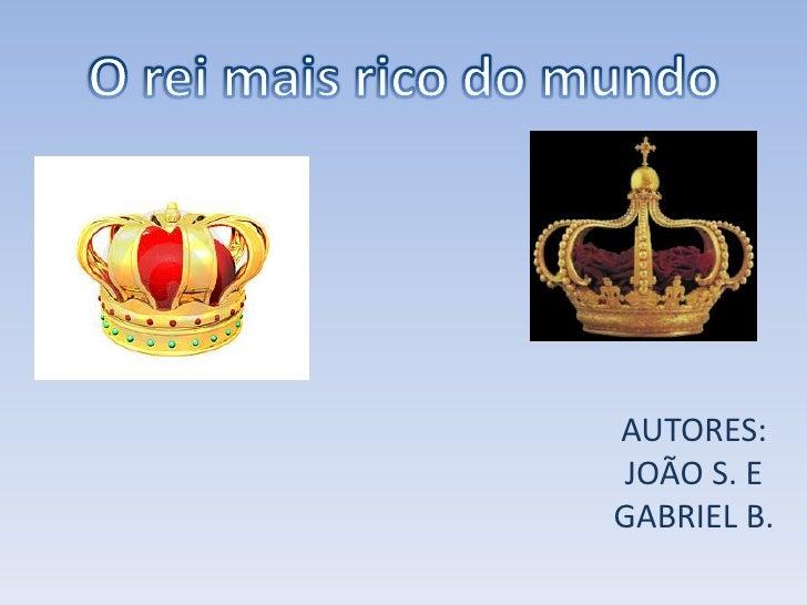 AUTORES:JOÃO S. EGABRIEL B.