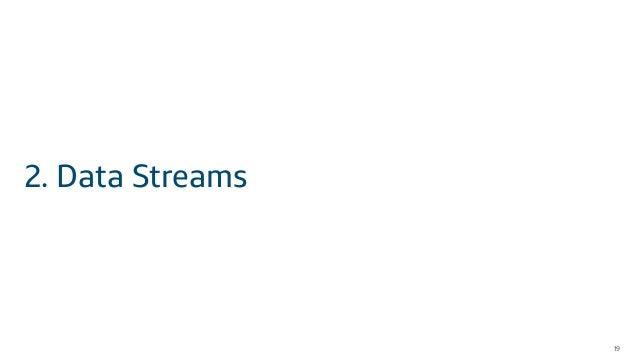 19 2. Data Streams