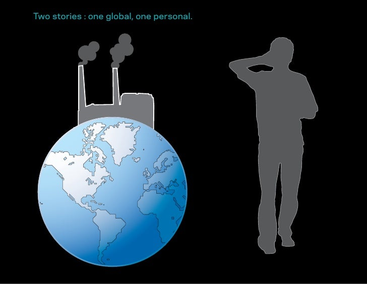 Two stories : one global, one personal.