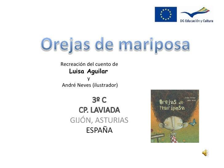 Recreación del cuento de  Luisa Aguilar  y  André Neves (ilustrador)
