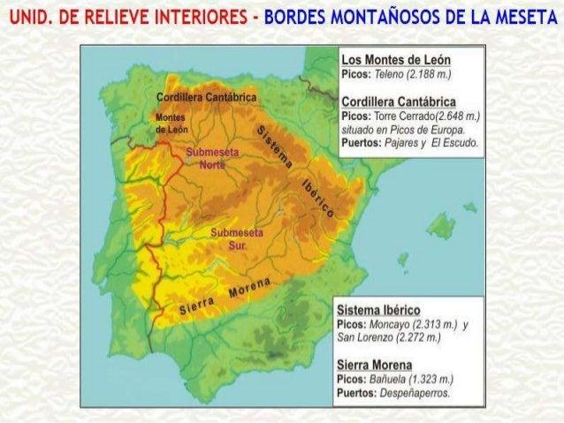    Situada no sur, separa a Meseta e    Andalucía.   En realidade é un conxunto se serras.   Son pouco elevadas (menos ...