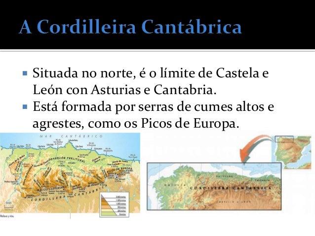    Son montañas que non están en contacto    coa Meseta. Forman cinco cordilleiras:     O Macizo Galaico     Os Montes ...