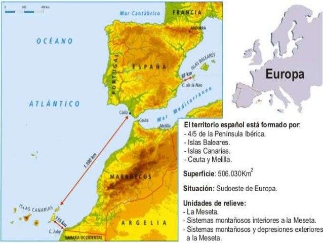    A Meseta esténdese principalmente polas    Comunidades de Castela e León, Castela –    A Mancha, Comunidade de Madrid ...