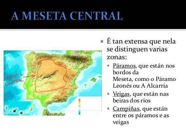    OS MONTES DE TOLEDO: están no centro    da Submeseta Sur. Teñen montañas de    pouca de alititude e separan o río Texo...