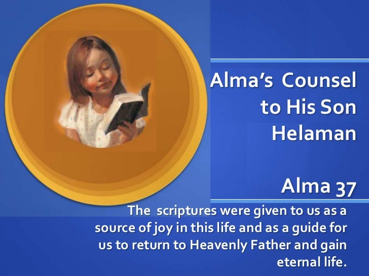 Alma 37:35 | Get Access To Unique Paper