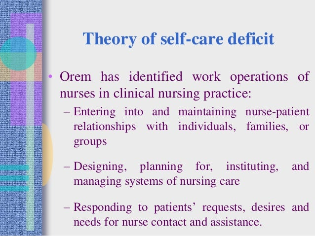 self principle in nursing jobs rehearse essay
