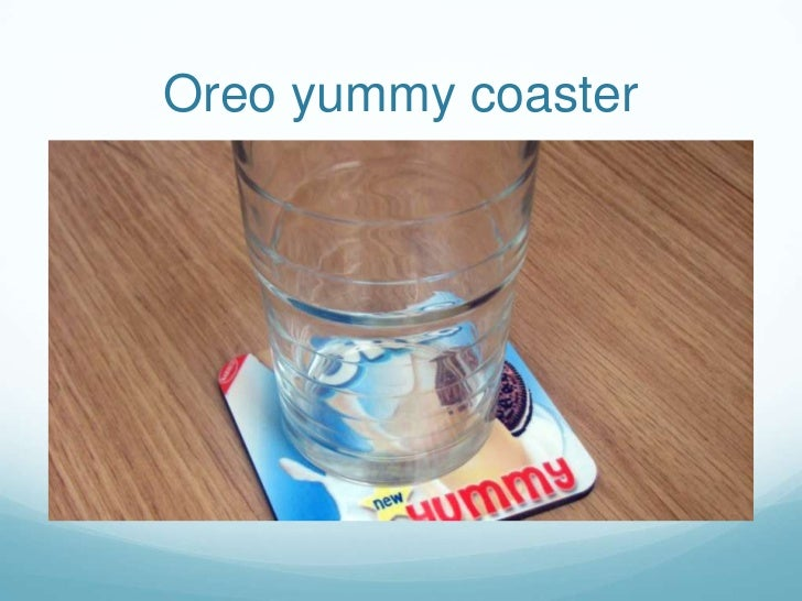 Oreo yummy coaster<br />