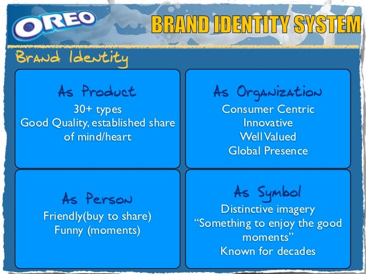 oreo swot Kraft reformulates oreo, scores in china unlike its iconic american counterpart, the oreo sold in china is frequently long, thin, four-layered and coated in chocolate.