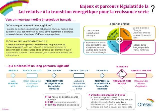 Décryptage de la loi relative à la transition énergétique Slide 2