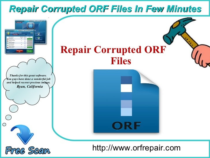 How To Remove http://www.orfrepair.com Thanks for this great software. You guys have done a wonderful job and helped recov...