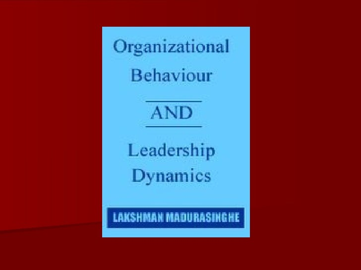 organization behavior it isnt fair The company can also have a fair progressive discipline policy ensuring job security also organizational behavior, theory and design in health care.
