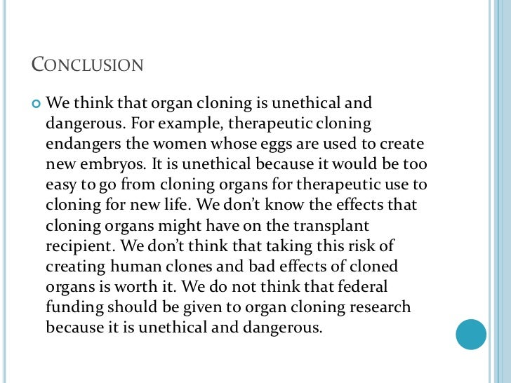is therapeutic cloning worth the risk Press content revealed that the debate was concentrated around reproductive  cloning in a way that constructed the issue as a safe controversy.
