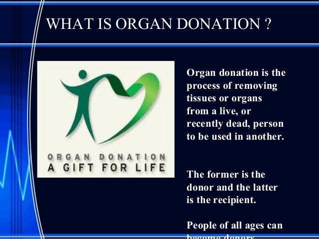 Free Persuasive Speech on Organ Donation
