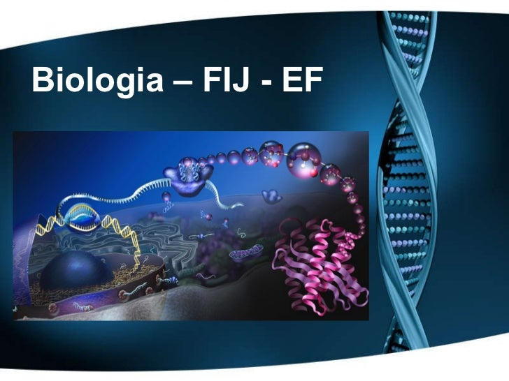 Biologia – FIJ - EF