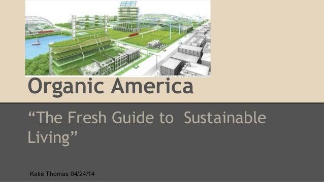 Organic america   team presentation