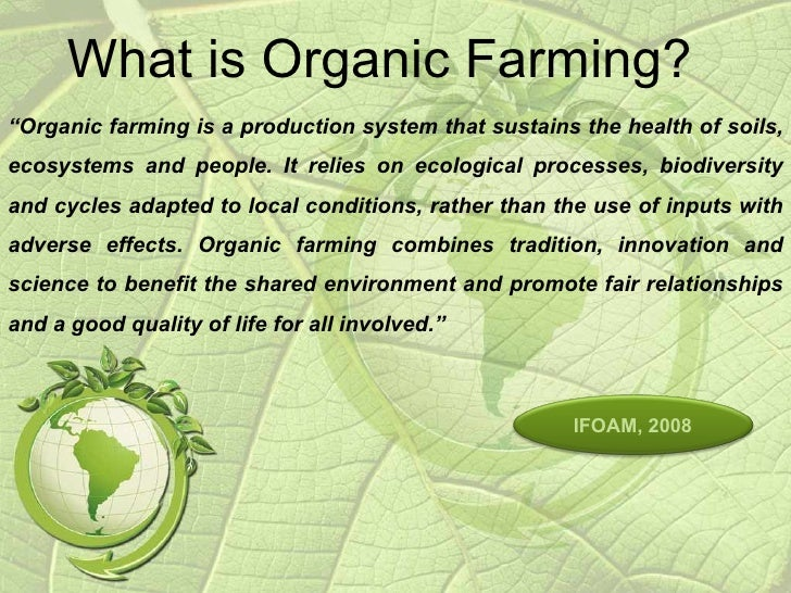 7 Facts of Organic and Conventional Farming