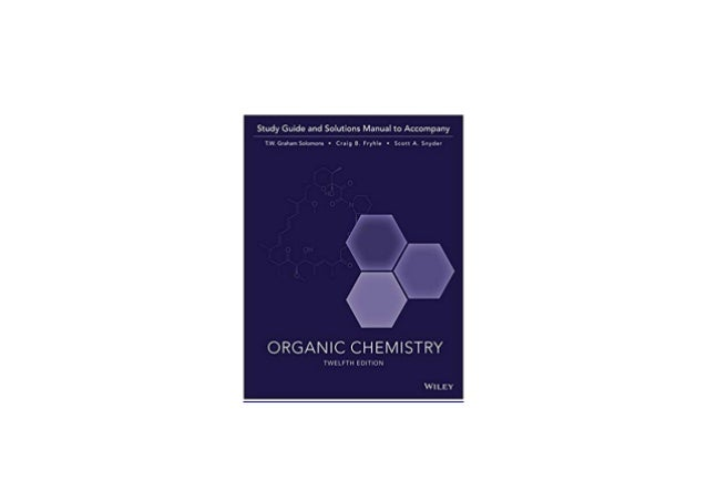 Organic Chemistry Study Guide U0026 Student Solutions Manual Manual Guide